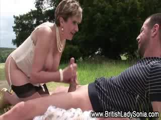 briten, schuhe, oma