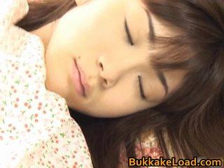 Asuka ohzora hawt warga asia model acquires seks cream