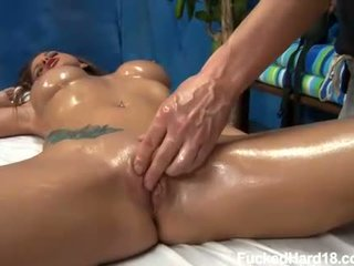 Intense wanking for beautys sweet boobs and cunt