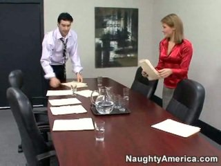 hardcore sex, kancelář sex, tajemník