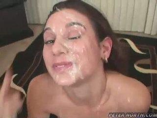Pleasing beauty jackie ashe engulfing weenies dan takes yang kemas teruk facials