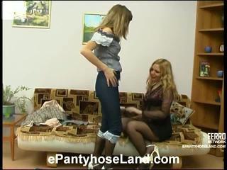 Maria en etta vies panty beweging