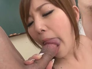 Seksual aziýaly gal gets dped