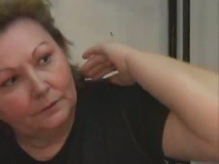 Fett kvinna äldre: fucks med muscular guy