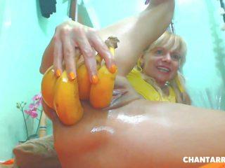 anal, masturbation, blondine