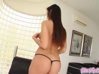 Panties are off and she's getting off too