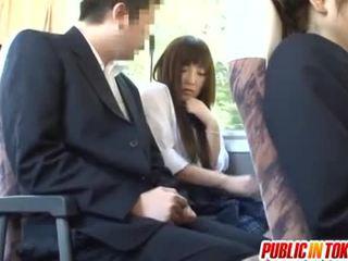 jaapani, public sex, reverse cowgirl