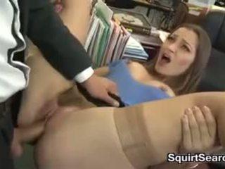 Sekretärin having sex bei die büro