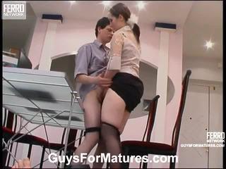 hardcore sex, forfall, gammel ung sex