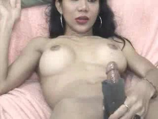 Jeje plays с а masturbation sleeve