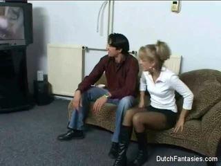 Warga belanda sofa seks lama