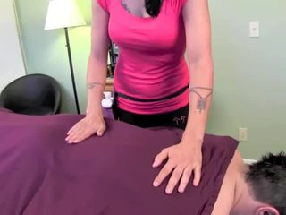 Zoey holloway massage jerk