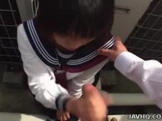japonais, pipe, uniforme