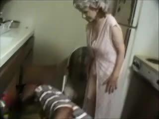 Mijn grootmoeder met een zwart dude