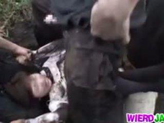 جذاب اليابانية مدرسة فتاة got شاق اللعنة مع بصاصة شاق