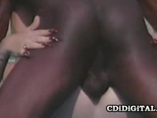 Lynn lemay retro blondie pleasing en svart dong