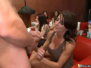 Donna fucks a stripper