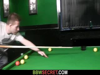 Her BF Fucks Fat Bitch On The Pool Tab...