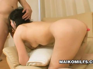 Junko konno jaapani momma experiencing dual seks