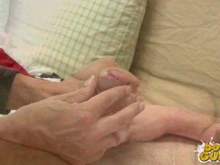 amatorë, twinks, handjob qij dorë nga seksi
