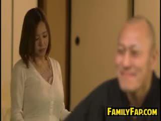 חרמן אישה loves צעד אב