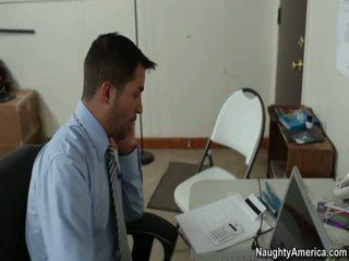 văn phòng quan hệ tình dục, cô gái đỏ miễn phí khiêu dâm