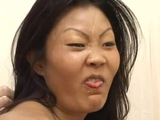 Lucy Lee Receives A Messy FAce CreAming After Hard Dp