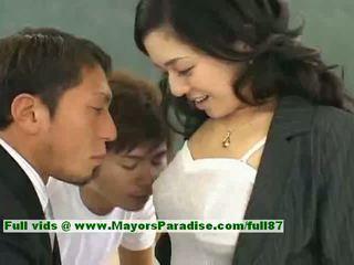 bebé, amateur, asiático