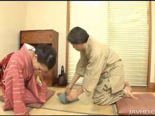 jaapani, eksootiline, blowjob