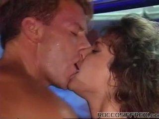 Rocco taking having baszás sleaze lány onto egy medence tabke és gives cumload