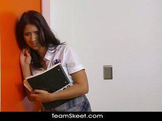 brunette, sinh viên, chiến lợi phẩm