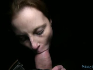 brunette, reality, oral sex