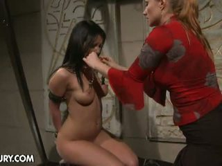 Mighty Mistress: Chanel suffers in the dungeon