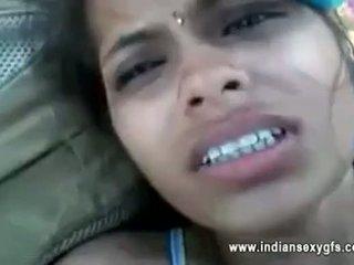 Orissa indiano fidanzata scopata da boyfriend in foresta con audio