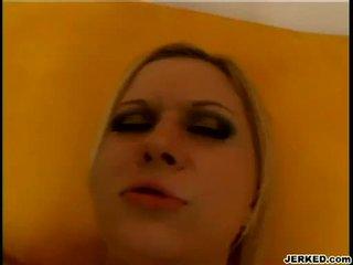 Flokëverdhë aaralyn barra receives të saj i ngushtë hole pounded i vështirë