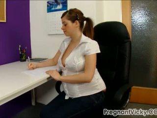 Gravida vicky 10 från pregnantvicky(dot)com