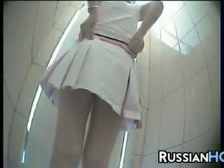 Skrytý toaleta camera