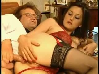 Coralie Secretary In Red Video