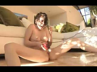 more brunette, most vibrator full, rated orgasm