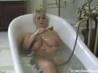 große brüste, blondine, amateur