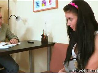 Αισθησιακό tutoring με δάσκαλος