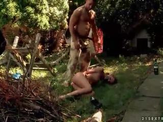 Hot sex slave gets anal fucked