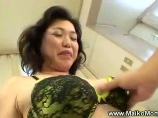 Rubbing зріла maikos волохата манда