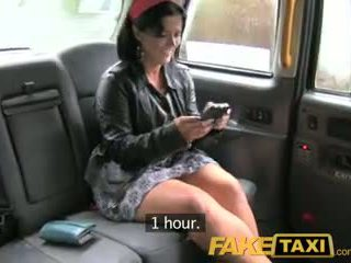 Faketaxi london cabbie arse fucks spanisch passenger