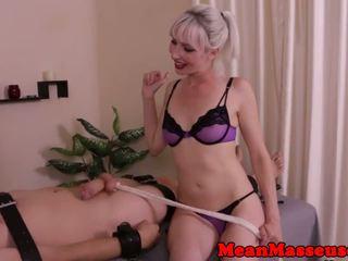Femdom cbt loving masseuse wanking off sub: brezplačno hd porno 6a