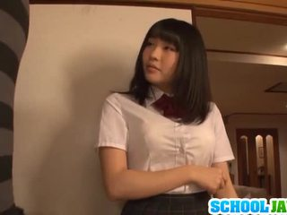 Satomi appreciates büyük uzun pork dagger