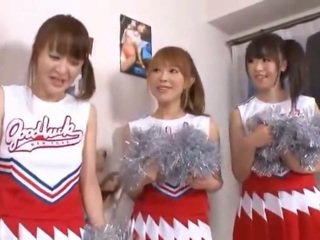 3 Giant Tits Nipponese Cheerleaders Sh...