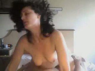 Amatør par knulling i privat hjemmelagd video