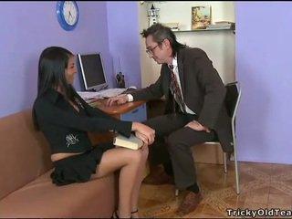 Delightful anala kön med läraren