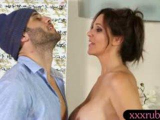 brunette xem, hơn bộ ngực to anh, tươi mau lớn